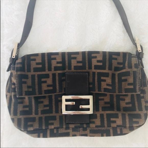 6b851000c25 Authentic Vintage Fendi Zucca Baguette Purse. M_5b9ae6815098a0993d682071